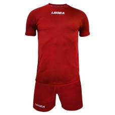 Футболен екип Legea Lipsia, червен