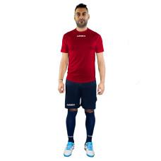 Футболен екип Legea Lipsia, червено-черно