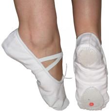 Меки танцови обувки  бели, бежови и черни