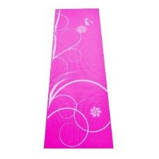 Постелка за йога или фитнес SPARTAN, 172x61x0,4 см, розова