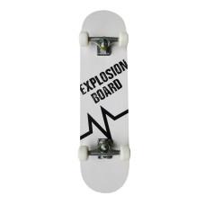 Скейтборд MASTER Explosion Board - бял, 78х20см