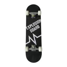 Скейтборд MASTER Explosion Board - черен, 78х20см