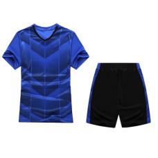 Екип за футбол, волейбол и хандбал, детски - син с черно