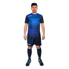 Футболен екип Legea Lubecca, синьо-черно