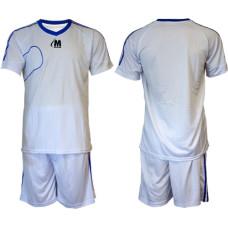 Екип за футбол, волейбол и хандбал - бял