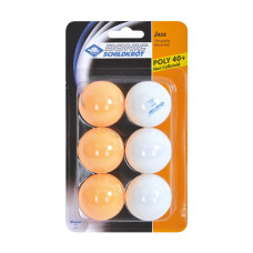Топчета за тенис маса DONIC-SCHILDKROT Jade Poly 40+, 6 бр.