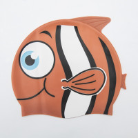 Шапка за плуване BESTWAY Hydro Swim Buddy за деца - оранжева