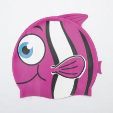 Шапка за плуване BESTWAY Hydro Swim Buddy за деца - розова