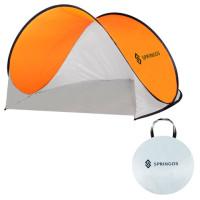 Палатка - сенник Springos с дъно, 200 x 120 см, плажна