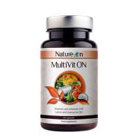 Мултивитамини и минерали NATURE ON MultiVit ON, 60 капс.