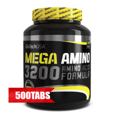 Аминокиселина BIOTECH USA Mega 3200, 500 табл.