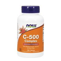 Витамин C-500 /Rose Hips/ NOW, 100 табл.