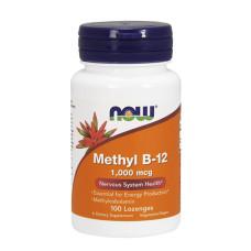Витамин B-12 NOW, 1,000мг., 100 дражета