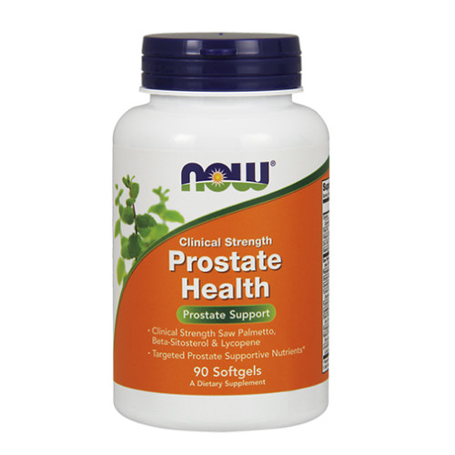 Мултивитамини за мъже NOW Prostate Health /Clinical Strength/, 90 меки капс.