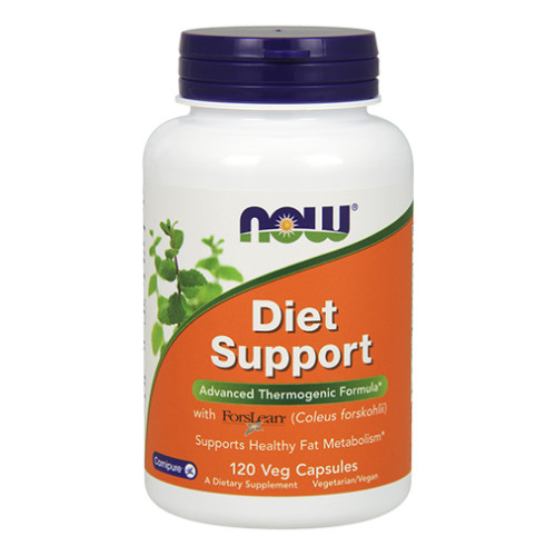 Фет бърнър NOW Diet Support, 120 капс.