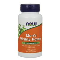 Витамини за мъже NOW Men's Virility Power, 60 капс.