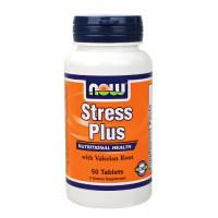 Витамини В-комплекс NOW Stress Plus /Vegetarian/, 50 табл.