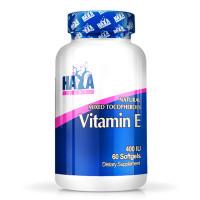 Витамин E HAYA LABS Mixed Tocopherols 400 IU, 60 капс.