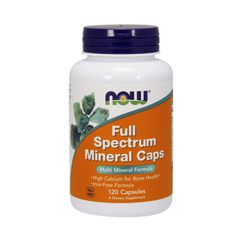 Минерали NOW Full Spectrum Minerals, 120 капс.