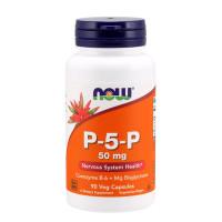 Витамини В-комплекс NOW P-5-P, 50мг., 90 капс.