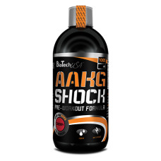 Азотен бустер BIOTECH USA AAKG Shock Extreme, 1000мл.
