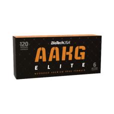 Азотен бустер BIOTECH USA AAKG Elite, 120 капс.