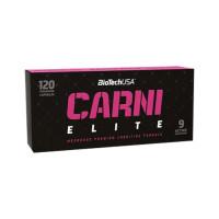 Фет бърнър BIOTECH USA Carni Elite, 120 капс.