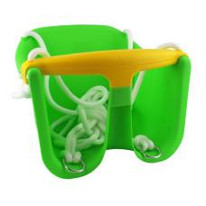 Детска люлка MASTER Baby, пластмасова, зелена