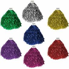 Разноцветни помпони