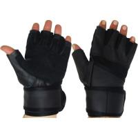 Фитнес ръкавици от кожа