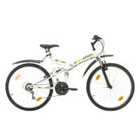 """Велосипед Probike FOLDING FSP 26"""", 460 мм, бяло-зелен"""