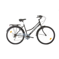 "Велосипед Probike CITY 26"", 457 мм, черен"