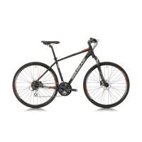 """Велосипед Shockblaze FASTER MAN ALTUS 28"""", 560 мм, черен"""