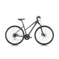 "Велосипед Shockblaze FASTER LADY ALTUS 28"", 450 мм, тъмно-червен"